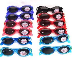 Cute Boy Girl Baby Kids Party Sunglasses Child Glasses assorted Frames lot of 12 $17.99