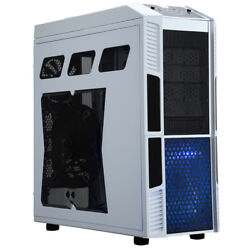 Rosewill THOR V2 W White Edition Gaming ATX Full Tower Computer Case White LED $124.99