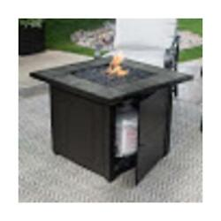 Blue Rhino GAD1399SP LP GAS OUTDOOR FIREBOWL WITH SLATE TILE MANTEL