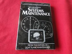 Vintage Book Basic and Advanced Light Plane Systems Maintenance in Cellophane $25.00