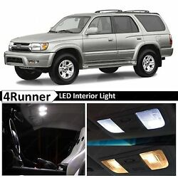 17x White Interior Map Dome LED Lights Package Kit Fits 1996 2002 Toyota 4Runner