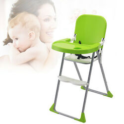 New Baby Feeding High Chair Plastic Folding Anti-Slip Booster Infant Eating Seat