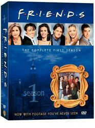 Friends: The Complete First Season 4 Discs TV Show DVD 2002 $4.83