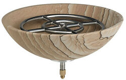 Decorative Portable Firepit: Sandstone  Fire Pit  Natural  or Propane