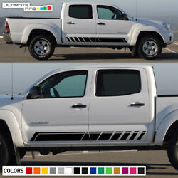 Decal Sticker Vinyl Side Stripe Kit For Toyota Tacoma Door Molding Guard Sill