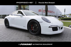 2015 Porsche 911 2dr Coupe Carrera GTS 2dr Coupe Carrera GTS Low Miles Manual Gasoline 3.8L FLAT 6 Cyl White