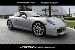 2016 Porsche 911 2dr Coupe Carrera GTS 2dr Coupe Carrera GTS Manual Gasoline 3.8L FLAT 6 Cyl GT Silver Metallic