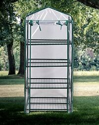 Garden Kit Greenhouse Portable Flowers Yard Clear PVC Cover Mini Patio Seed New