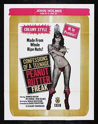 CONFESSIONS OF A TEENAGE PEANUT BUTTER FREAK CineMasterpieces MOVIE POSTER 1974