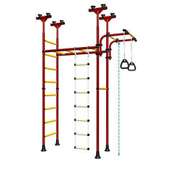 Children's Home Gym Swedish wall Playground Set - Carousel-70