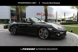 2013 Porsche 911 2dr Cabriolet Turbo 2dr Cabriolet Turbo Low Miles Convertible Automatic Gasoline 3.8L FLAT 6 Cyl Bla