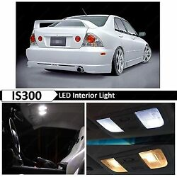 12x White Interior Map LED Lights Bulb Package Kit Fits Lexus IS300 2001 2005 $12.89