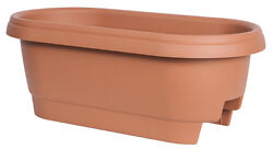 Bloem 477241-1001 Deck Rail Planter Clay 24-In.