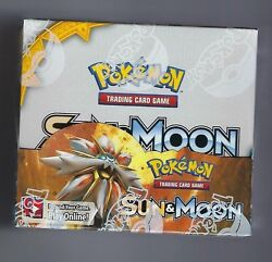 POKEMON TCG SUN AND MOON BOOSTER SEALED BOX ENGLISH $104.99