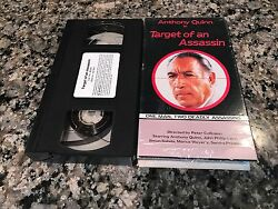 Target Of An Assassin Rare VHS South Africa Action Anthony Quinn $9.99