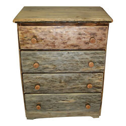 Rustic Pine log Chest of Drawers Cabinhome.lodge Rustic Log Bedroom Furniture