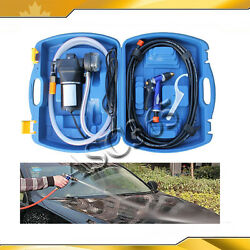 CarGarden Washing Device Utility Vehicle Portable 12V Cleaner With Blue Case