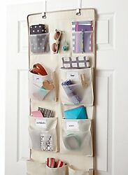 Real Simple 29 Pocket Over The Door Multipurpose Organizer Convenience Excellent