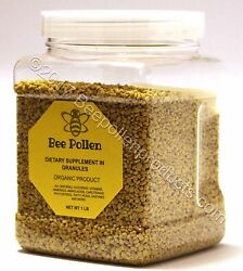 BEE POLLEN 100% Pure Natural Bee Pollen Granules 1 lb FDA Certified $24.99