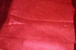 Barnyard red wool Felt for craft projects sewing 12 yard