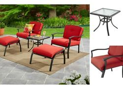 Patio Garden 5 Piece Bistro Set Outdoor Furniture Table Chair Bar Yard Dining US