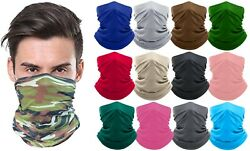 Moisture Wicking Breathable Stretch Fabric Gaiter Mask Scarf Bandana Colors New $7.99