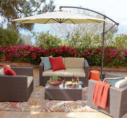 Outdoor 5 Piece Wicker Patio Furniture Sets Clearance Sale From Sears Target