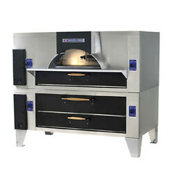 Bakers FC-516D-125 Il Forno Classico Pizza Oven Double Stacked Wood Burning S