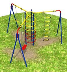 Kids Outdoor Gym Playground Backyard Set - CIRCUS