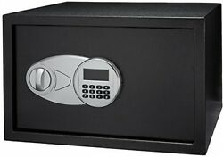 Steel Security Safe 1.2 Cubic Feet 2 Live Locking Bolts & Digital Keypad