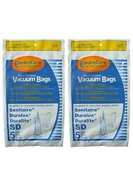 10 Sanitaire Sd Micro with Closure Vacuum Bags Electrolux Eureka Duralux V... $10.99
