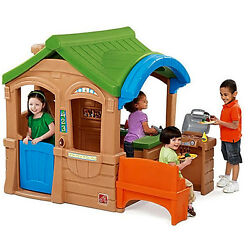Step2 Gather Grille Playhouse 5 piece accessory set included Pretend outdoor kid