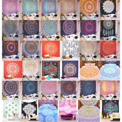 Tapestry Mandala Wall Indian Hanging Hippie Bohemian Ombre Decor Bedspread Throw $17.99