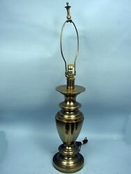 Stiffel Vintage 33quot; Solid Brass Table Lamp 15 Pounds $100.00