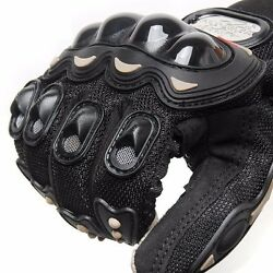 Breathable Motorcycle Gloves Riding Motos Racing Dirt Sport Bike Armor Polyester $12.50
