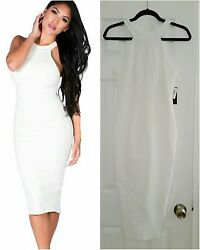CLASSY COCKTAIL DRESS Ivory White SEXYDRESSES $25.00