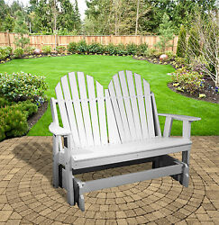 Rocky Ridge Outdoor Furniture Adirondack Glider