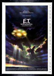 E.T. EXTRA TERRESTRIAL ✯ CineMasterpieces ADVANCE PRINTERS PROOF MOVIE POSTER