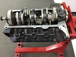 NEW CHEVY SBC 383 SHORT BLOCK 2-PC SEAL BLUE PRINTED BLOCK+ALL FORGED COMPONENTS
