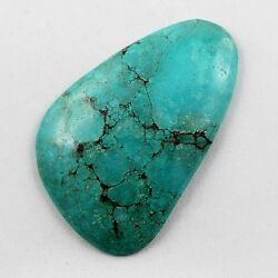 128 CT FANCY SHAPED ULTIMATE QUALITY NATURAL TURQUOISE CABOCHON GEMSTONE TA-110