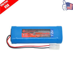 1x 3800mAh 7.2V NiMH Rechargeable Battery RC Battery Pack With Tamiya Plug USA $11.09
