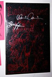LADY DEATH IN LINGERIE #1 RED LEATHER MICRO PREMIUM EDITION LIMITED TO 2000 NM