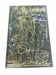 LADY DEATH IN LINGERIE #1 SIGNED LEATHER PREMIUM EDITION LIMITED TO 10000 NM