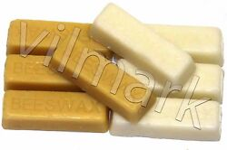 Beeswax Filtered 100% Pure White Yellow Bees Wax Cosmetic Grade A Blocks Bricks