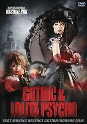Gothic And Lolita Psycho Hong Kong RARE HORROR EURO CULT ACTION MOVIE