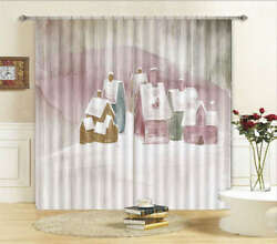 Some Log Cabin 3D Curtain Blockout Photo Printing Curtains Drape Fabric Window