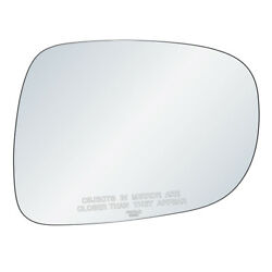 Passenger Side Mirror Replacement Glass Fits Lexus ES350 IS250 IS350 Adhesive LH $17.37
