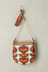 New Anthropologie Online Exclusive $478 Rayan Leather Messenger Bag by En Shalla