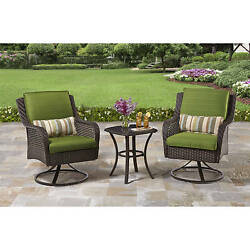 Better Homes and Gardens Amelia Cove 3-Piece Outdoor Bistro Set Seats 2