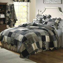 Donna Sharp Paris Patch Quilted Cotton King 6-Piece Country Cottage Bed Ensemble